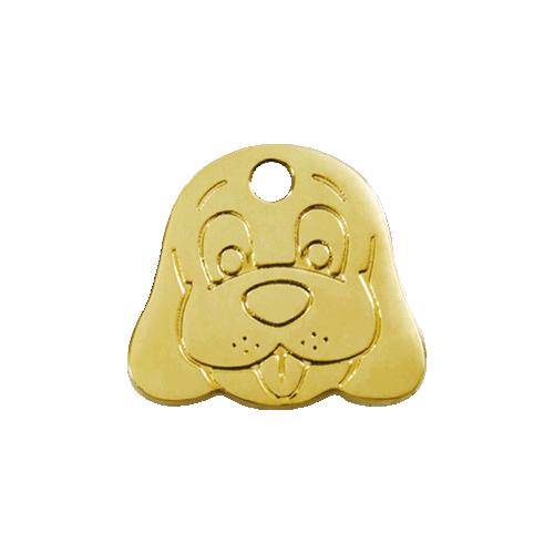 Médaille Red Dingo Laiton -...